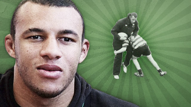 Courtney Lawes - Tackle